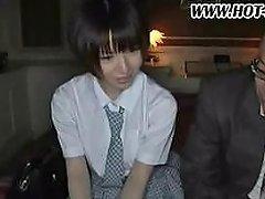 Short Hair Schoolgirl