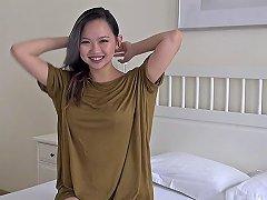 Stunning Hot Uk Busty Asian 18yo Teen Solo