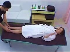 Hot Japanese Massage Girl Fucked Hard