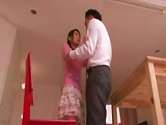 Japanese Girl Is Forced To Submit To His Cock And Sucks And Gets Fucked